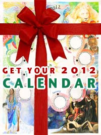 Get a 2012 Rainbow Dragon Calendar Poster to align with the new year!