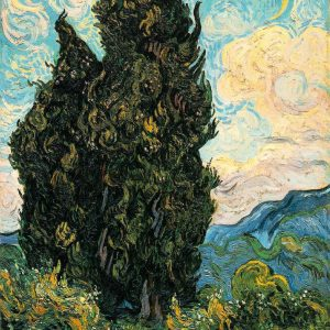 Cypress by Van Gogh